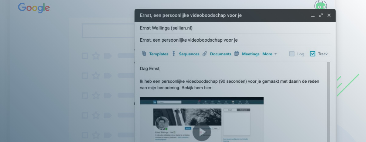 video voor sales